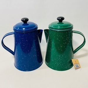 Speckled Enamel Ware Metal Carafe Food Safe Crafts